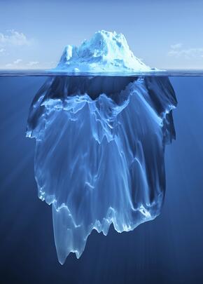 supply chain is like an iceberg