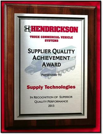 Hendrickson_Award